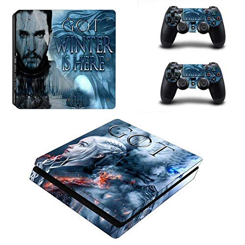 Thrones PS4 Console and DualShock 4 Controller Skin Set by Babita Dogra - PlayStation 4 Vinyl