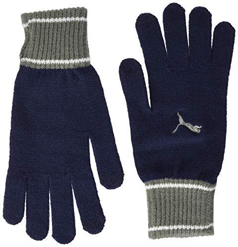 PUMA Knit Gloves Handschuhe, Unisex für Erwachsene M Schwarz