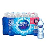Nestle Pure Life Purified Water, 16.9-Ounce Plastic Bottles (Total of 24)