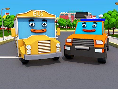 Autobus and Abschleppwagen