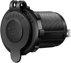 AI Share 12V Cigarette Lighter Socket USB Charger Socket Adapter Car Power Outlet Socket Receptacle 12V Waterproof Plug …