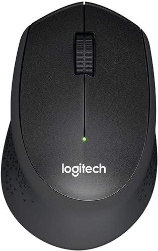 Logitech M330 Souris sans Fil Silent PLUS, 2,4 GHz avec Nano-Récepteur USB, Suivi 1000 PPP, 3 Boutons, Batterie Longu...