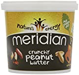 Meridian Natural Crunchy Peanut Butter - No added sugar and