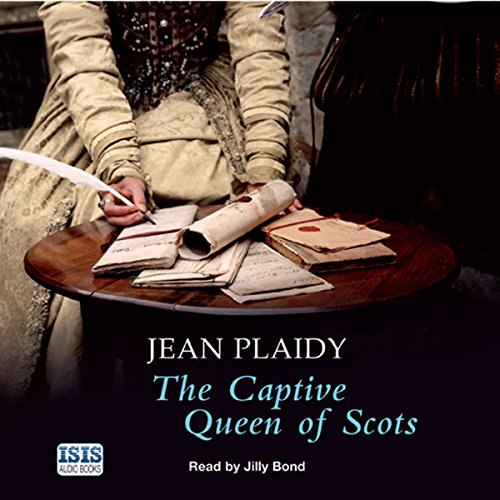 The Captive Queen of Scots audiobook cover art