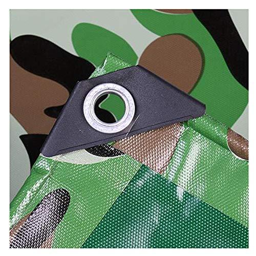 Lona De Camuflaje Toldos A Prueba De Lluvia Para Jardín Carpa Al Aire Libre Espesar Hule Cubierta De Cobertizo Para Automóvil Lona Impermeable Multiusos Lona Resistente Lámina De PVC Mueb(Size:2x3m)