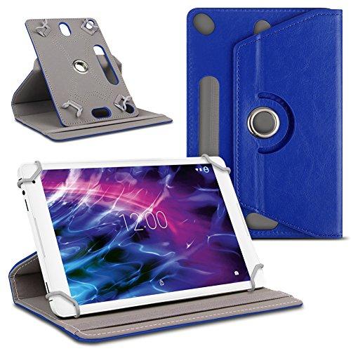UC-Express Tablet Schutzhülle für Medion Lifetab P10610 P10606 P9701 P10602 X10605 X10607 P9702 X10302 P10400 Tablet Kunstleder Cover Hülle Tasche Hülle, Farben:Blau
