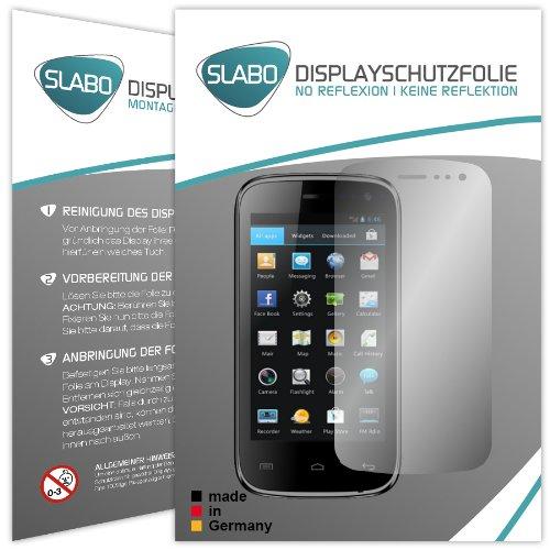 2 x Slabo Displayschutzfolie Mobistel Cynus T5 Displayschutz Schutzfolie Folie