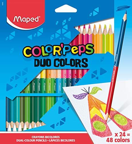 Maped Dreikant-Buntstift COLOR/'PEPS Animals 12er Kartonetui