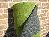 Walkloden Doubleface Stoff - grün