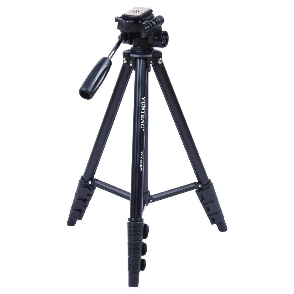 Yunteng 681高品質アルミ合金三脚一眼レフカメラDVカメラ三脚
