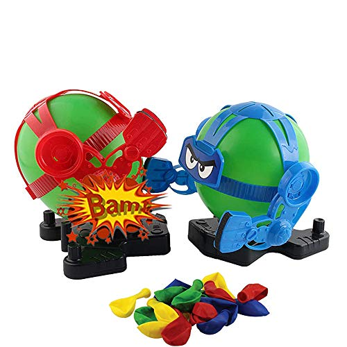 Balloon Bot Battle Family Party Game, Robot Balloon Puncher Toy, Battle Boxing Robot 2 Player Robot Combat Set, Creative Competitive Interactive Robot Boxing Game