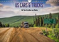 US Cars & Trucks in Alaska (Wandkalender 2022 DIN A4 quer): Der faszinierende Alltag auf den Strassen von Alaska (Monatskalender, 14 Seiten )