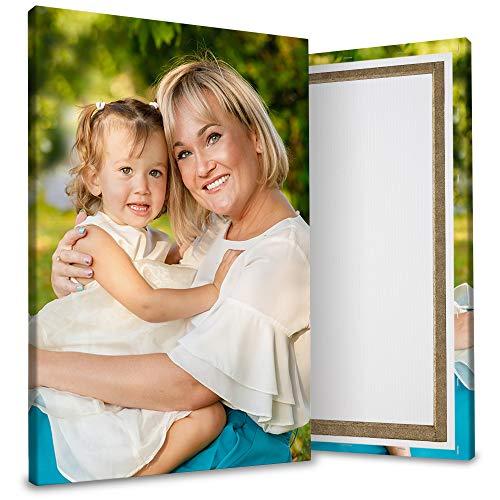 wandmotiv24 Ihr Foto auf Leinwand, Fotowand selbst gestalten, Hochformat 20x30cm, Leinwandbilder als Geschenk, personalisierte Fotogeschenke drucken Lassen