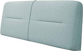 HUHAA Longs oreillers de Chevet oreillers de lit Chevet Dos Coussin de Soutien lit cale Oreiller Couleur Unie canapé Sac S...
