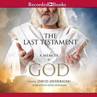 The Last Testament audiobook cover art