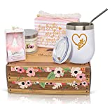 I Love You Care Package - Love Theme Birthday Gift Boxes for Women: Our Relax Care Package Incl. an Organic Bath Bomb Set, Heart Tumbler, and Bookmark - She'll Adore This Love Care Package for Women