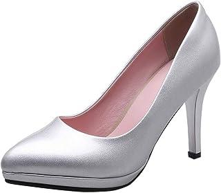 VulusValas Women Trendy Stiletto High Heel Pumps