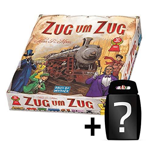 Zug um Zug - Grundspiel - Original | DEUTSCH | Spiel des Jahres 2004 | Set inkl. Kartenspiel