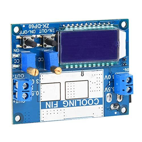 Módulo de fuente de alimentación Step Up Down ajustable de 5.5-30V a 0.5-30V Convertidor de refuerzo de protección integral para proyectos de electrónica de construcción Aplicaciones de la