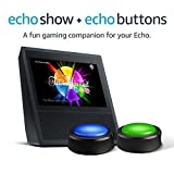 Echo Show Black + Echo Buttons