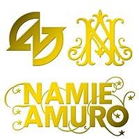 カッティングステッカーS 『Amuro』 金 022G
