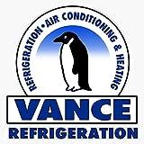 Vance Refrigeration Sticker Decal Bumper Sticker 5'