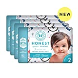 The Honest Company | Baby Diapers with Trueabsorb Technology | Winter Wonder | Size 2 | 128Count