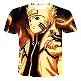 yinying Camiseta de Anime Camiseta de Manga Corta Floja 3D de Niyin Naruto 3D-62776_120