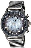 GUESS Reloj analógico para Hombre. de Cuarzo con Correa en Acero Inoxidable W1310G3