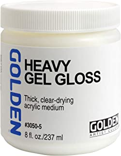 Golden Artist Colors - Heavy Gel Gloss - 8 oz Jar
