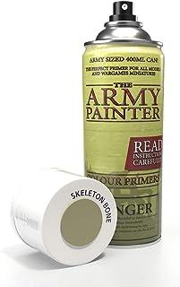 The Army Painter | Colour Primer | Spray Acrylique Couleur Skeleton Bone de 400 ML, Apprêt pour la Peinture de Figurines