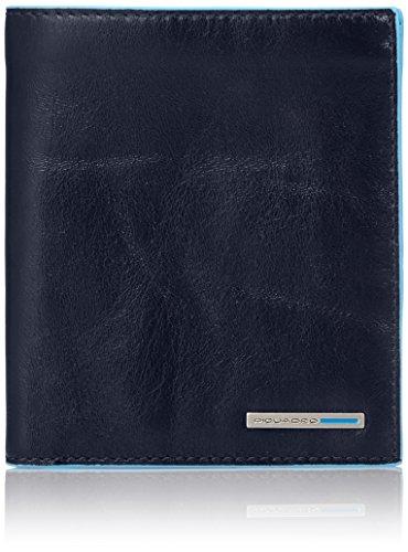 Piquadro PU3247B2/BLU2 Blue Square Portafoglio, Blu, 12 cm