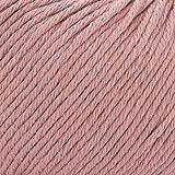 ggh Tavira, Farbe:040 - Rosenholz, 100% Baumwolle, 50g Wolle als Knäuel, Lauflänge ca.80m, Verbrauch 800g, Nadelstärke 4-5, Wolle zum Stricken und Häkeln