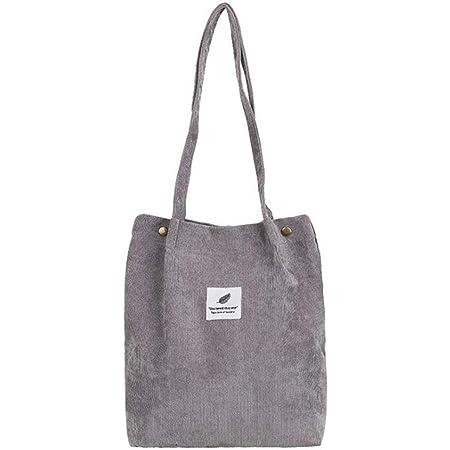 Femme Tote Bag Retro Casual Handbags BESLIME Sac Velours c/ôtel/é Fashion Womens Shoulder Handbags Big Capacity Shopping Bag Sac /à Bandouli/èRe En Velours C/ôTel/é Brun clair