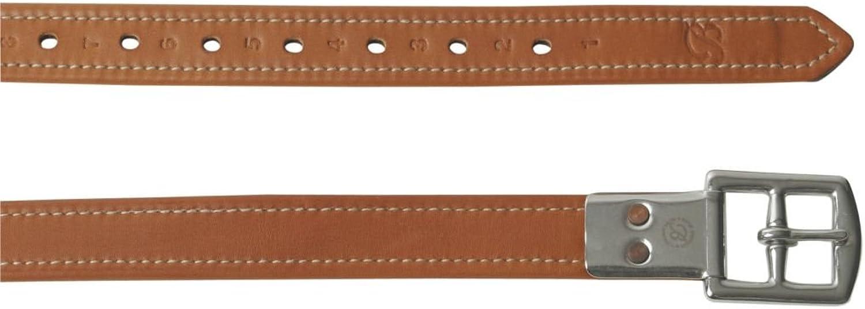 Bates Stirrup Leathers Black 63 inch 160cm
