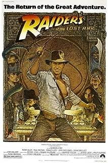 raiders of the lost ark original poster