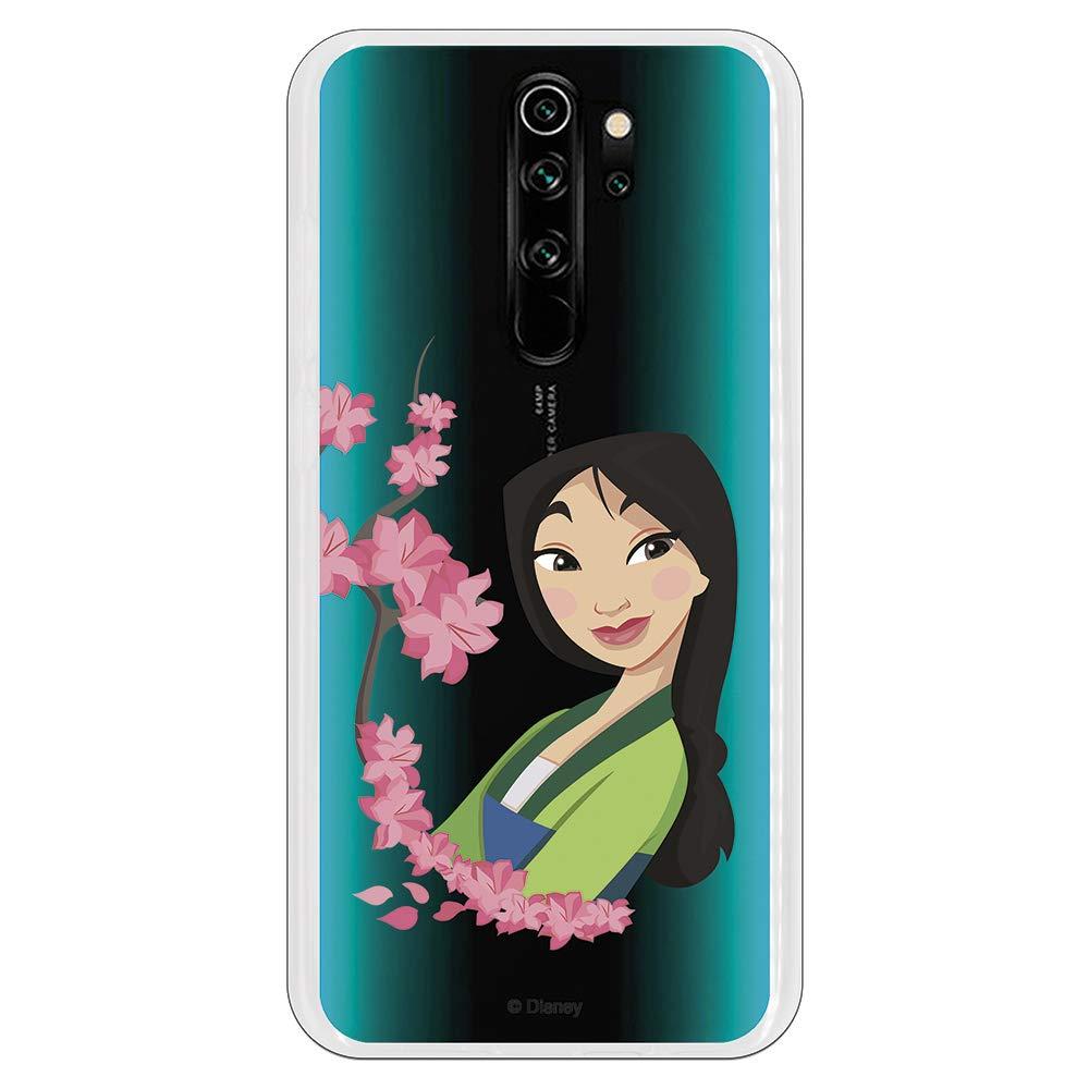 Funda para Xiaomi Redmi Note 8 Pro Oficial de Mulan Mulan Amapolas para Proteger tu móvil. Carcasa para Xiaomi de Silicona Flexible con Licencia Oficial de Disney.: Amazon.es: Electrónica