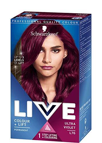 Schwarzkopf LIVE L76 Ultra Violet, 100 ml