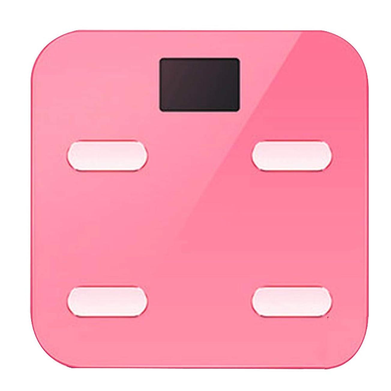 骨の折れる彼説教するバスルームスケール滑り止め超薄型バックライトディスプレイ高精度デジタル体重体脂肪計
