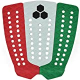 Channel Islands Surfboards Bobby Martinez Traction Pad, Red/White/Green, One Size