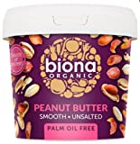 Biona Organic Smooth Peanut Butter, 1kg