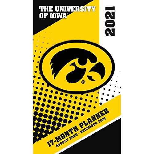 TURNER SPORTS Iowa Hawkeyes 2020-21 17-Month Planner (21998890528)