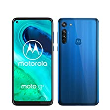 moto g8 Dual-SIM Smartphone (6,4 Zoll-Max vision-Display, Dreifach-Kamerasystem, 64 GB/4 GB, Android 9.0) Blau©Amazon