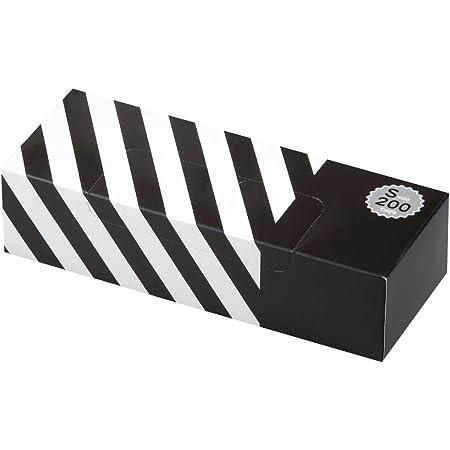 驚異の防臭袋 BOS (ボス) ストライプパッケージ/黒色Sサイズ200枚入 赤ちゃん用 おむつ ・ ペット うんち ・ 生ゴミ ・ サニタリー などの処理に