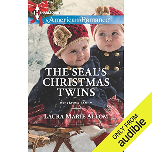 The SEAL's Christmas Twins audiobook cover art