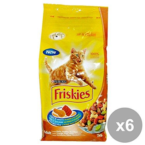 Friskies für Katzenfutter, Fleisch, Mehrfarbig, Einheitsgröße