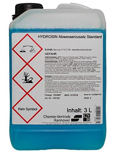 CVH Hydrosin Abwasserzusatz Standard Konzentrat 3 Liter UN3082 (G4/17)