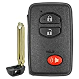 QualityKeylessPlus Replacement Virgin Toyota Highlander Prox Smart Key Remote for Keyless Entry FCC ID: HYQ14AAB