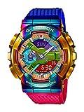 G-Shock GM110RB-2A - Orologio da uomo Rainbow Crazy in metallo, taglia unica