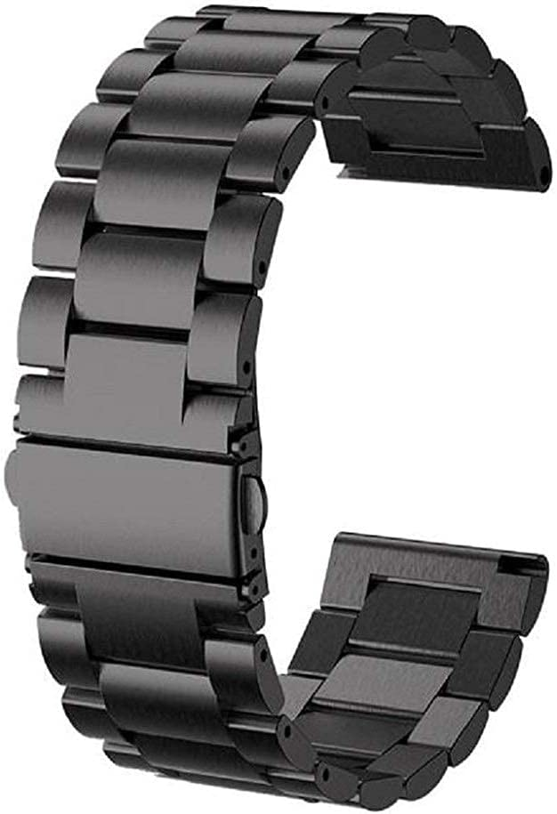 ZJSXIA Outlet SALE Watch Straps 24mm Stainless Steel Max 62% OFF Bracel Strap Wristband